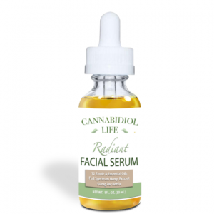 cannabidiol life facial serum