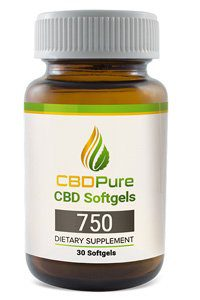 cbdpure cbd softgels