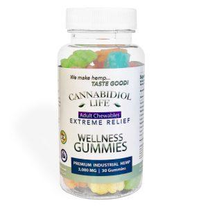 cannabidiol life wellness gummies
