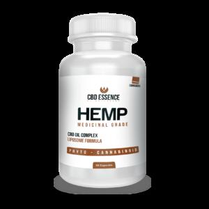 CBD Essence CBD Medicinal Hemp Oil Liposome Capsules