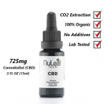 NuLeaf Naturals Pure Full-Spectrum CBD Oil