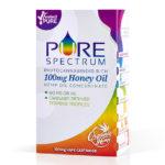 pure spectrum honey lemon vape oil cartridge