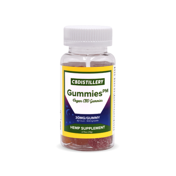 cbdistillery night time gummies