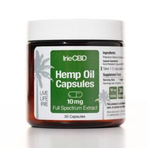 irie cbd hemp oil capsules