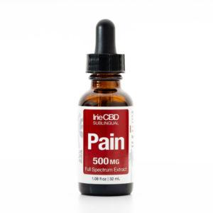 irie cbd pain 500