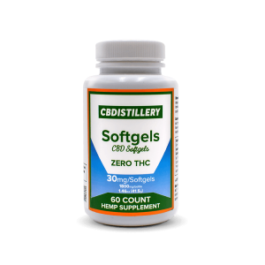 cbd distillery softgels