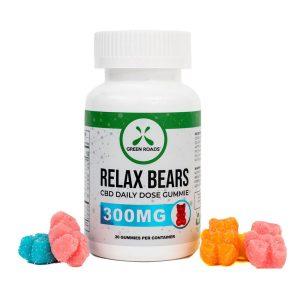 green roads world relax gummy bears