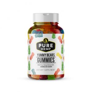 pure hemp shop gummy yummy bears