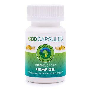 pure hemp botanicals cbd capsules