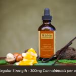 Mana Artisan Botanics Hemp Oil Turmeric And Vanilla