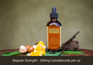 mana botanics hemp oil turmeric and vanilla