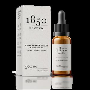1850 hemp company 500mg cbd elixir
