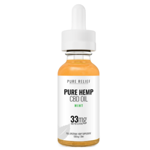 pure relief 1000mg mint cbd oil